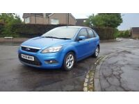2009 Blue Ford Focus Zetec 1.8 TDCI