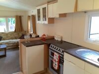 SPACIOUS 6 BERTH HOLIDAY HOME , STATIC CARAVAN FOR SLAE REDUCED WITH FEES