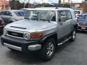 2007 Toyota FJ Cruiser AUTO AWD NO ACCIDENT CERTIFIED