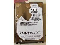 1TB 1000GB WD WESTERN DIGITAL WD10JUCT AV-25 2.5 SATA hard drive