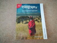 Geography An Intergrated Approach - AS & A Level - Excellent condition