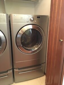 27 Inch Electric Dryer with 7.3 Cu. Ft. Capacity, 9 Cycles