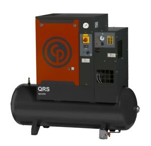 IN STOCK!! New 10HP Chicago Pneumatic Rotary Screw Compressor