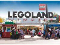 Legoland tickets x2 7th September