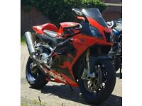 Aprilia RSVR Factory 2005 55 Reg Mint Condition