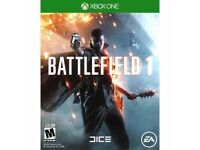 Battlefield 1 Xbox one (Like New)