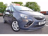 2014 (14) Vauxhall Zafira Tourer 1.8 i VVT 16v Exclusiv 7 Seater | Yes Cars 4 u - Portsmouth