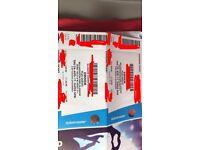Eminem ticket Bellahouston park 24/08/17