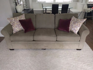 Like new sofa and chair-and-a-half
