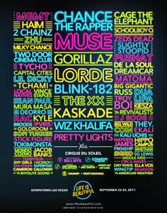 Music Festival - LIFE IS BEAUTIFUL - Tickets for Sale