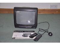 """Matsui 14"""" screen TV CRT"""