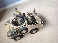 HM Armed Forces vehicles and figures