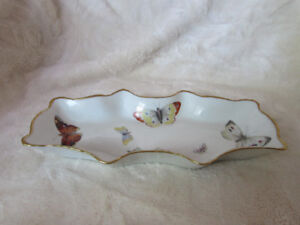 Limoges Butterfly Dish