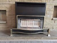 Valor Gas Fire excellent condition (Valor Sun Fire)