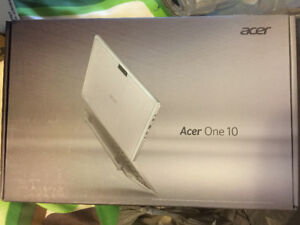 Acer One 10 S1002 tablet with keyboard NEW