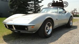 1969 Corvette Convertible with 2 tops