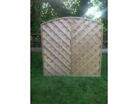 San Remo 6x6 Fence Panel