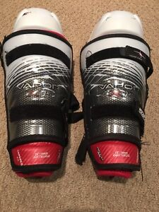 Hockey Shin pads and shoulder pads