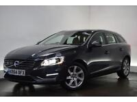VOLVO V60 2.4 D5 SE LUX NAV 5d AUTO 212 BHP (grey) 2014