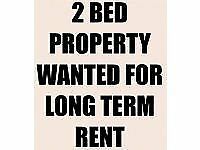 Wanted 1 / 2 bedroom house / flat wanted to rent long term anywhere within 1 hour drive glasgow