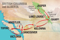 Banff/Jasper to VANCOUVER - starting August 28th or 29th