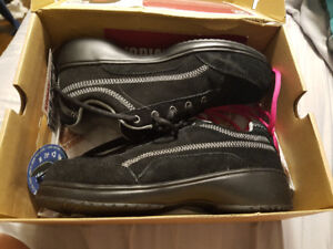 Brand new steel toe and non slip shoes