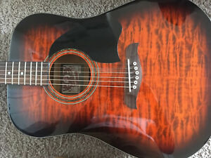 Oscar Schmidt Guitar (Model OG2QHS)