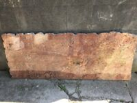 Large granite slab