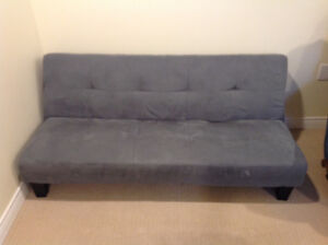 Futon and lazyboy recliner