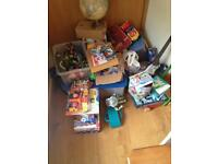 Sale of used and unused toys. Everything has to go!!!