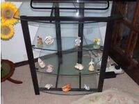 Glass Four Tier TV Stand