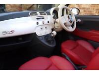 2009 Fiat 500 1.4 16v Lounge 2dr Petrol white Manual
