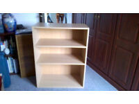 2 Shelf Open Front Bookcase