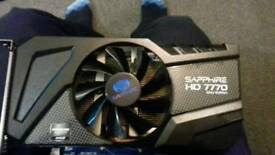 OC amd HD radeon 7770 1GB Ghz edition.