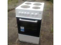 Beko electric free standing cooker - only 12 months old