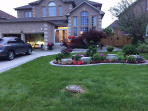 Landscaping, Interlock, Planting, FREE Estimation and Design!