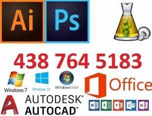 Service d'installation de logiciels informatique Windows et Mac