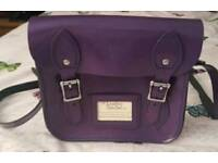 Purple Patent Leather Satchel