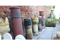 recalaimed fancy ridge tiles and finiles plus a large selection of chimney pots