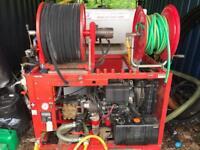 Van mounted drain jetter £4400 ono
