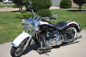 '07 Harley Davidson Softail Deluxe - Low Kms - See & Hear Video
