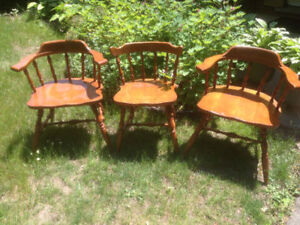 vintage chairs quebec