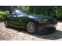BMW Z4 SPORT CONVERTIBLE RED LEATHER