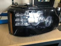 Range Rover Head Lights 2012