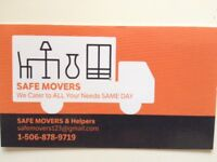 Safe Movers & Helpers- Flat rates or per hour (We Work with You)