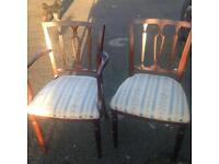 Dinning chairs set 6