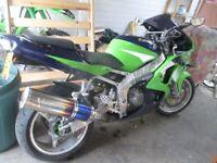 kawasaki zxr 600 swop for 125 road legal bike