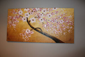 Blooming Tree - Oil painting on canvas
