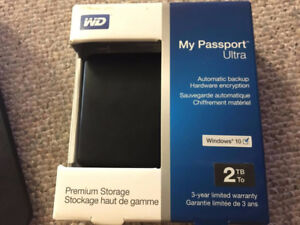 WD My Passport Ultra- 2TB very good condition in BOX: 75$