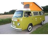 VW Westfalia Camper, 1976 U.S Import - Green with Berlin interior - Automatic, LHD